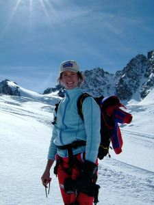 Moi c'est clairement montagne et pas plage... ici en rando a ski