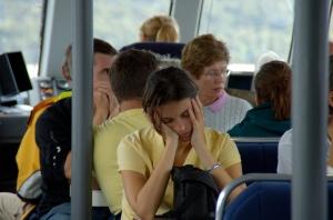 Les paparazzis me surprennent en délit de sieste... bloggeur voyage ce n'est pas de tout repos
