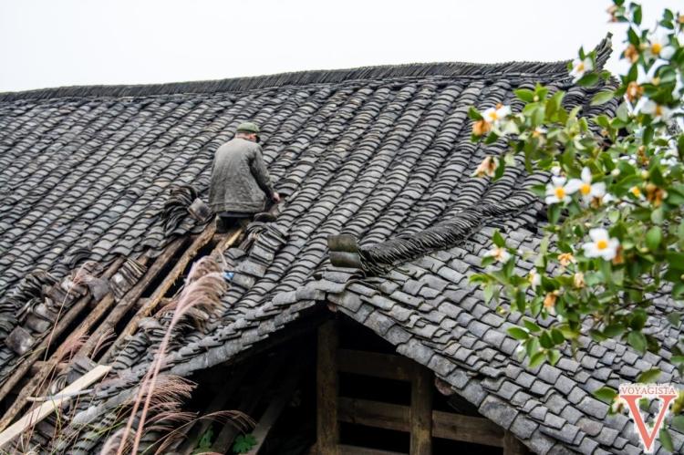 Vie du village de Xiaozhai