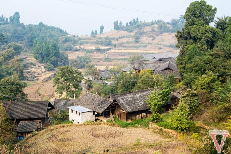 hunan village Xiaozhai