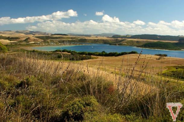 Vue sur les lacs Kai Iwi